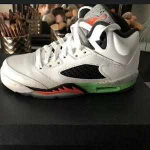 Jordan 5 Retro Poison Green 5Y